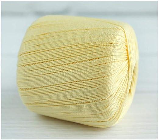 Línea de encaje 8, hilo de ganchillo, hilo de algodón, hilo fino ...