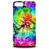 Foxercase Designs Rainbow Floral Art Painting Hard Back Case Cover for Apple iPhone 7 Plus