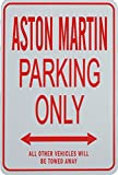 ASTON MARTIN PARKING ONLY - Miniature Fun Parking Signs - Ideal Gift for the motoring enthusiast