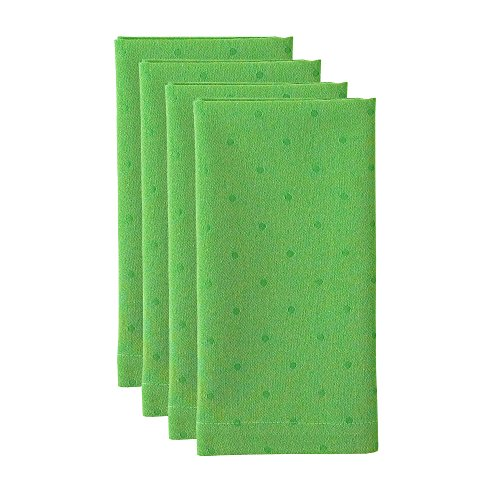 Kate Spade Larabee Dot Napkin, Green, 4-Pack