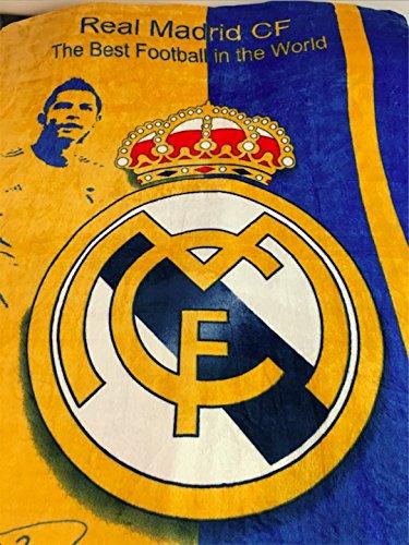 Real Madrid Football Club - Cristiano Ronaldo Coral Fleece Blanket Queen Size ()