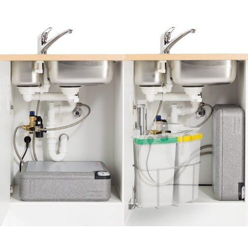 naber modesto® 10-liter wasserspeicher. für anschluss in ... - Warmwasserboiler Für Küche
