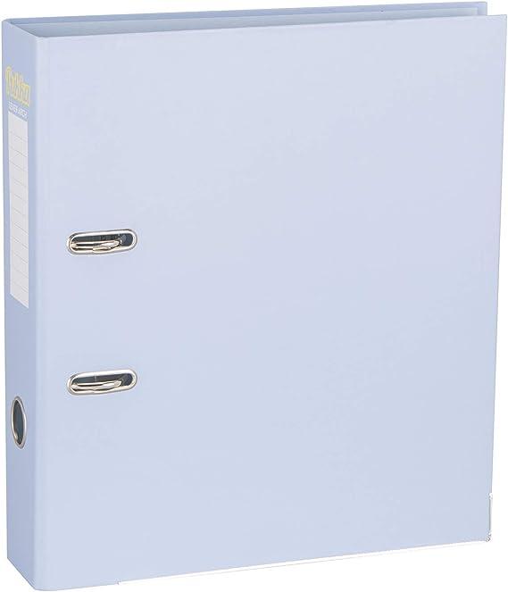 Pukka - Archivador de anillas (70 mm, A4, 5 unidades), color azul pastel: Amazon.es: Oficina y papelería
