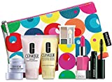 Clinique 7pc Make up & Skin Care Gift Set Bold Pops/punch...