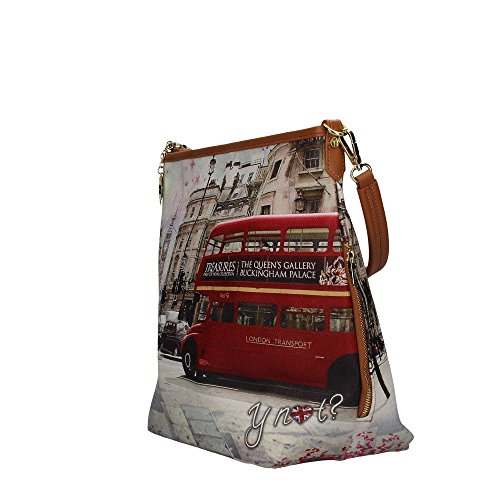 Donna 349 YESBAG Borsa con Bus Ride Manici YNOT J Bw48vOqI
