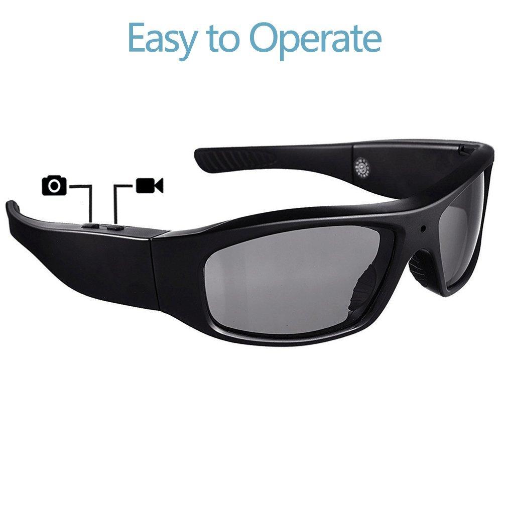 eb610da957 DATONTEN Sunglasses with Camera HD 720P Video Recording  Amazon.in   Electronics