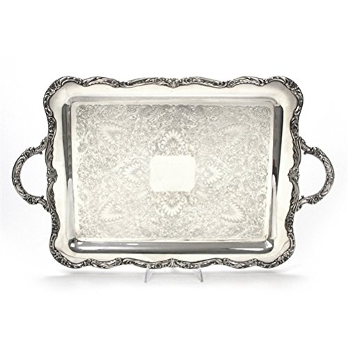 Serving Tray, Chased Bottom by Wm. Rogers, ()