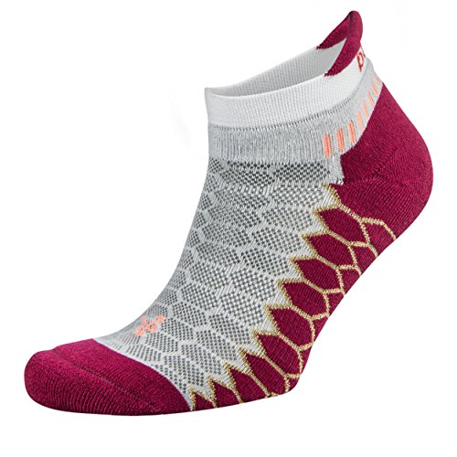 Balega Silver Antimicrobial No-Show Compression-Fit Running Socks for Men and Women (1-Pair)