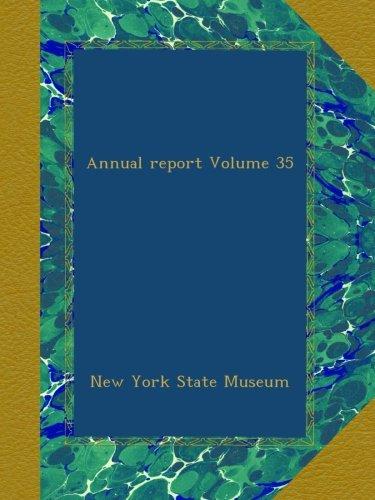 Annual report Volume 35 pdf epub