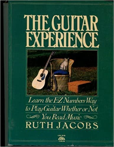 Book The guitar experience: Learn the E-Z numbers way to play guitar whether or not you read music (A Spectrum book) by Jacobs Ruth T (1981-01-01)