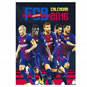 16dd305095 Officielle FC Barcelone Football 2018 Calendrier: Amazon.fr: Sports ...