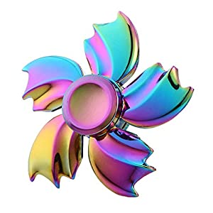 Wangyue New Rainbowl Style Hand Spinner Fidget Toy for Children and Adults Fidget ADHD EDC Focus Longer rotation Toy