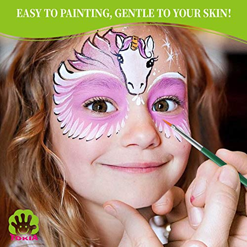 Finders 10 Colors Face Paint Palette And Body Art Painting
