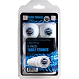 Table Tennis Ping Pong Balls - 3 Star Advanced Training Regulation Size Balls Tables Pingpong Beer Pong Ball 40mm Great for Ping Pong Tournament or Amateur Games 6 Pack Set White by SportzGo