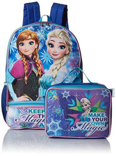 Disney Girls' Frozen Backpack with Lunch
