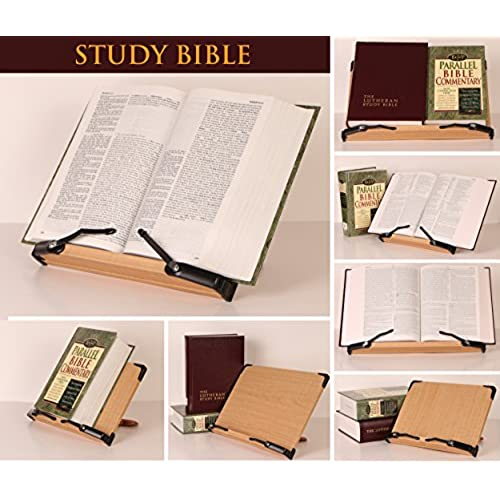 good a book stand bs301 deluxe book holder w adjustable detachable traypage - Recipe Book Holder