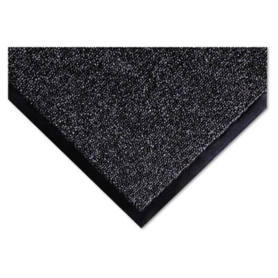 Crown - Fore-Runner Outdoor Scraper Mat, Polypropylene, 36 x 60, Gray - Sold As 1 Each - Durable Loop-Twist Surface vigorously scrapes Off and Traps Dirt, Debris and Snow.