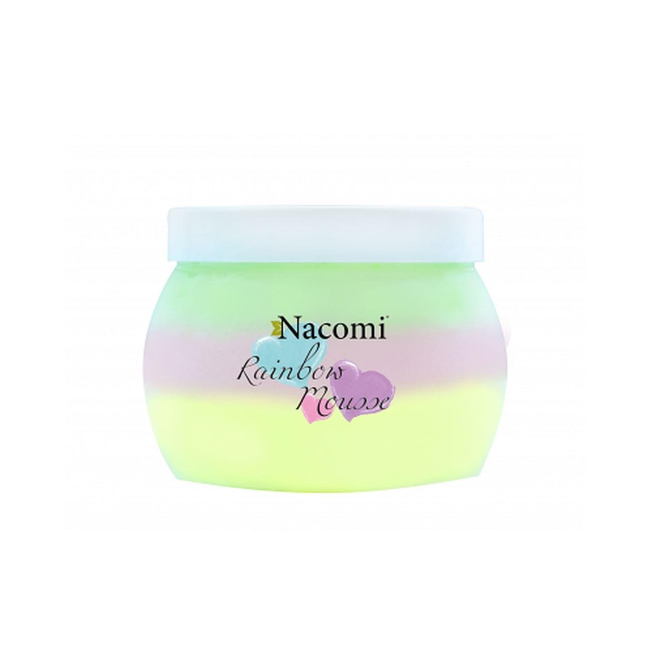Nacomi Rainbow Natural Body Mousse 200ml