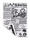 people Brain Builders: Baby Newspaper - Crinkly Baby Toy