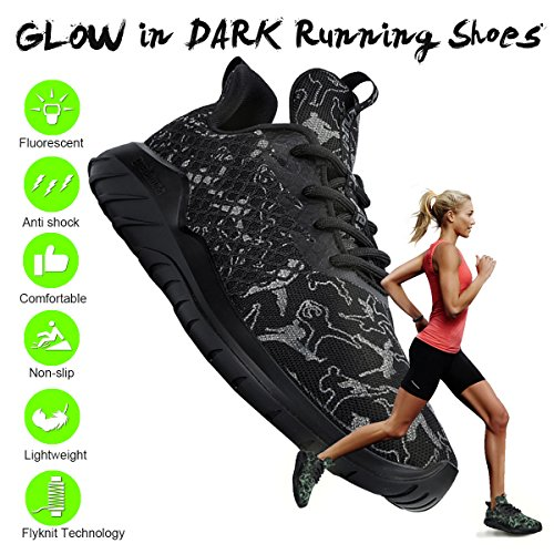 Girls Men Lightweight Women Running Boys Black Shoes Sneakers Shoes for soulsfeng Youth Wide ZCRwqff8