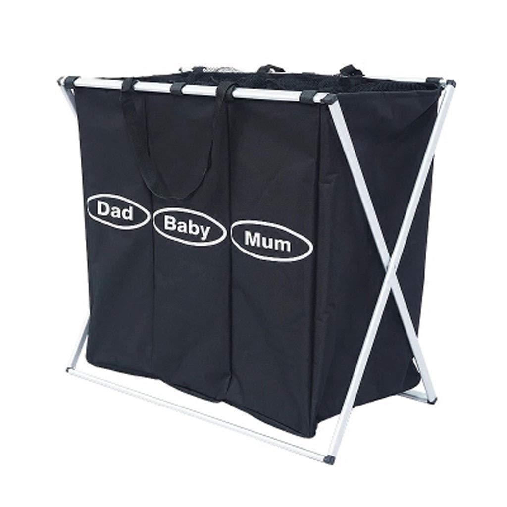 Kinue Home DecorAddition Diaper Toy Hamper Laundry Baskets- Laundry Basket   Large Capacity ┃ Folding Design ┃ No Installation