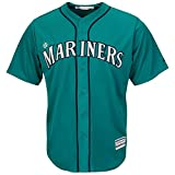 Seattle Mariners Blank Teal Youth Cool Base Alternate Replica Jersey