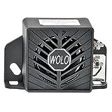 Wolo Model BA-97 Heavy Duty Commercial Grade Back-Up Alarm, Loud 97 Decibel, 12-24 Volt
