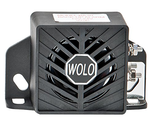 Wolo (BA-97) Pro-Tec Heavy-Duty Back-Up Alarm ()