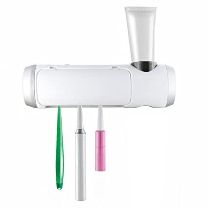 HAIT Esterilizador De Cepillo De Dientes Cepillo De Dientes Recargable UV Caja De Desinfección Cepillo De