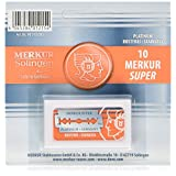 Merkur Double Edge Safety Razor Blades - 10 Count