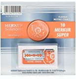 Merkur Double Edge Safety Razor Blades - 10 Count