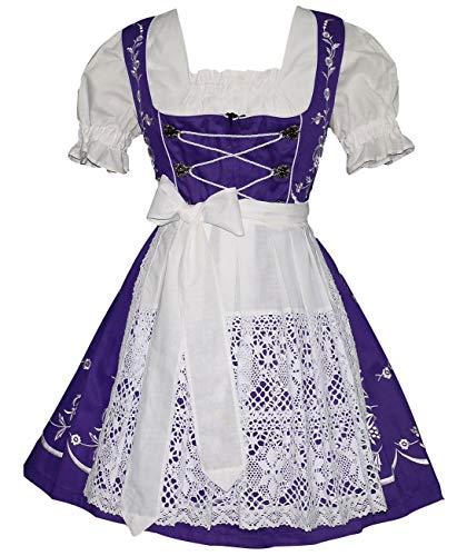 Around The World Fancy Dress Costumes Ideas - Dirndl Trachten Haus 3-Piece Short German
