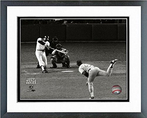Reggie Jackson New York Yankees 1977 World Series Game 6 Home Run #1 Photo (Size: 12.5