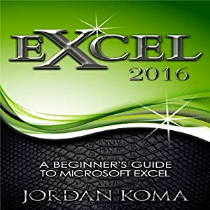 Excel 2016 Audiobook
