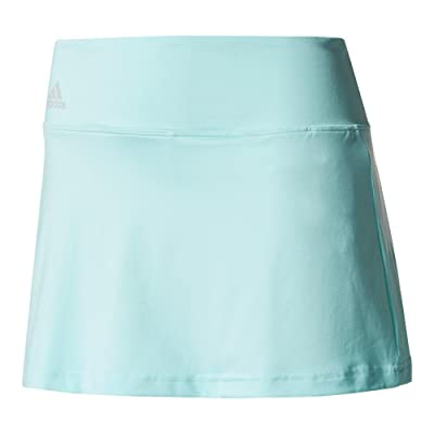 adidas Women`s Advantage 13 inch Tennis Skirt Energy Aqua-(BQ4869LONG-F17)