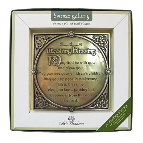 (Royal Tara Bronze Plated Wall Plaque With A Wedding Blessing)