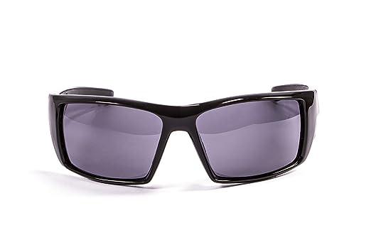 Ocean Sunglasses Aruba - lunettes de soleil polarisées - Monture : Noir Laqué - Verres : Fumée (3200.1) ddVF1URh5M