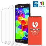 S5 Battery [ NFC / Google Wallet Capable] , YONTEX 2800mAh...