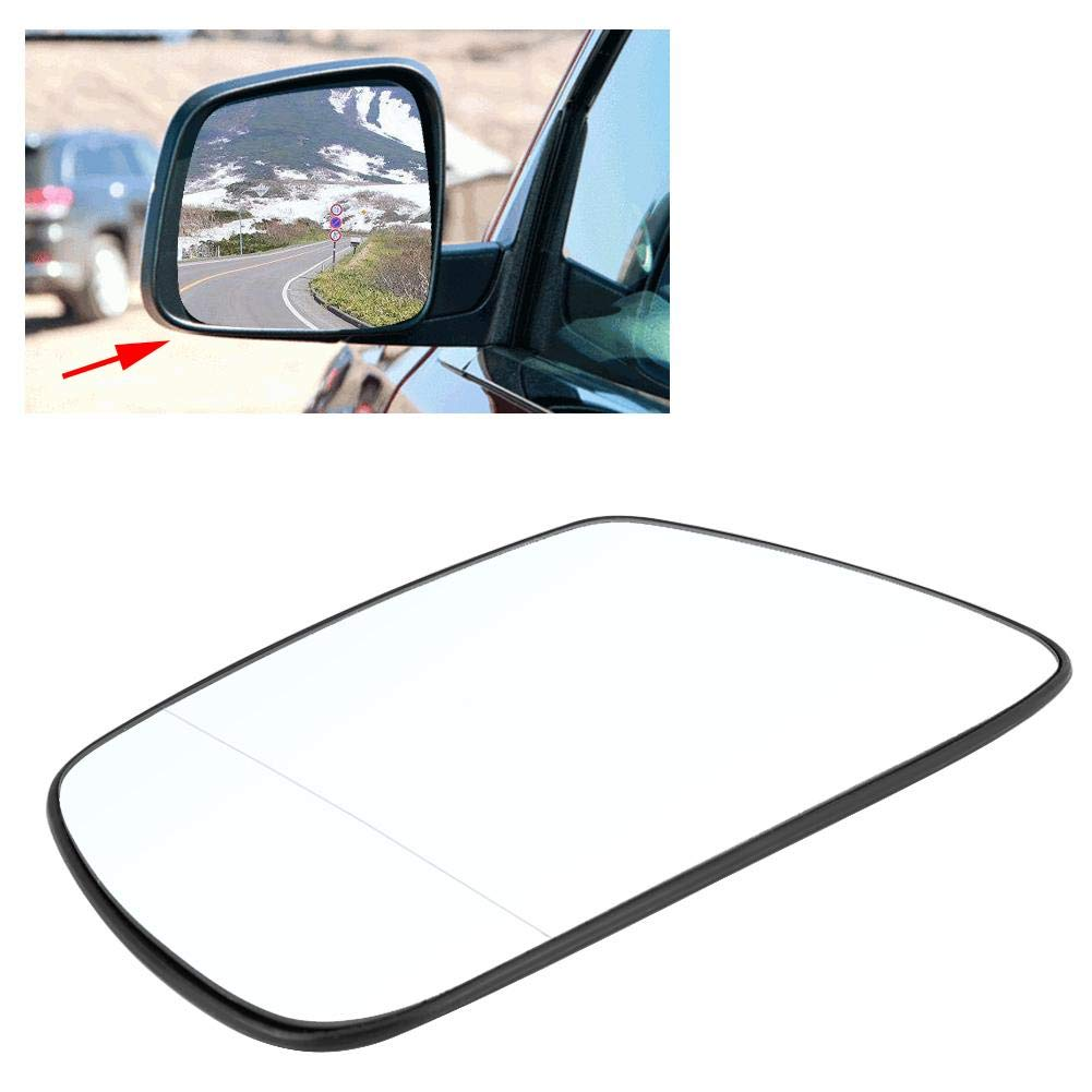Wing Mirror Glass Delaman Car Left Door Side Wing Mirror Glass Heated for Jeep Grand Cherokee 2005-2010