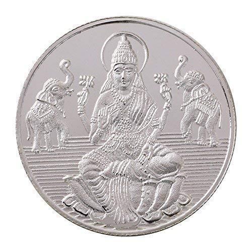 Bangalore Refinery 999 Purity Silver Coin Lakshmi 20 Gram