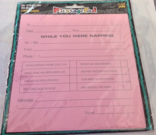 While You Were Napping Message Pad by Goofy Gadgets