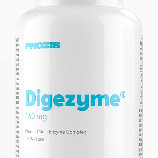 Prozis DigeZyme 160 mg 90 veg caps: Amazon.es: Salud y ...