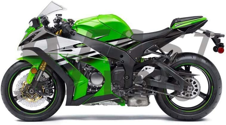 Green LoveMoto Whole Vehicle Decals Stickers for 2012 2013 2014 2015 kawasaki ZX14R ZX-14R ZZ-R1400 Ninja Motorcycle Full kit Decals