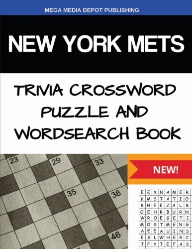 Mets Trivia York New - New York Mets Trivia Crossword Puzzle and Word Search Book
