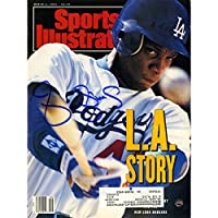 Darryl Strawberry Autographed 3/4/91 Sports Illustrated Magazine