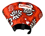 Cuddle Cone Soft E-collar, Medium - Red Hawaiian