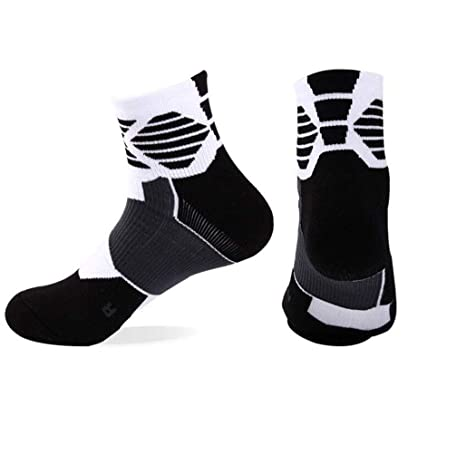 GKKXUE Calcetines de Baloncesto, Calcetines Antideslizantes ...