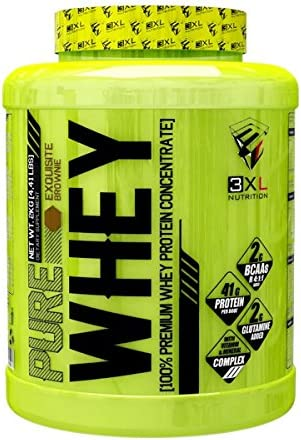 3XL Nutrition - Pure Whey - 2kg - Donuts Blancos, black cookies