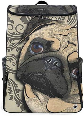 リュック メンズ レディース リュックサック 3way バックパック 大容量 ビジネス 多機能 犬柄 スクエアリュック シューズポケット 防水 スポーツ 上下2層式 アウトドア旅行 耐衝撃