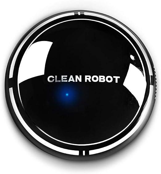 VLERHH Robot Aspirador, Limpieza Inteligente, Succión Poderosa ...
